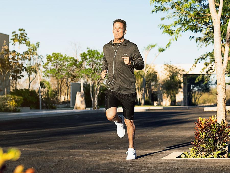 Circuito de jogging